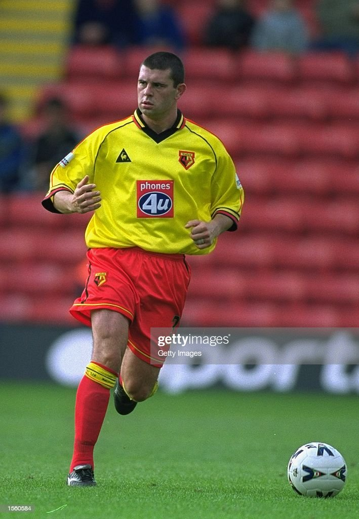 Paul Robinson of Watford in action during the Nationwide League Division One match against Crewe Alexandra at Vicarage Road in London. Watford won the match 3-0. Picture by Mike Finn-Kelcey. \ Mandatory Credit: Allsport UK /Allsport