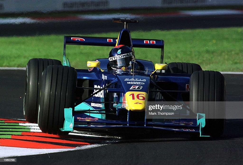 Diniz Italian GP : News Photo