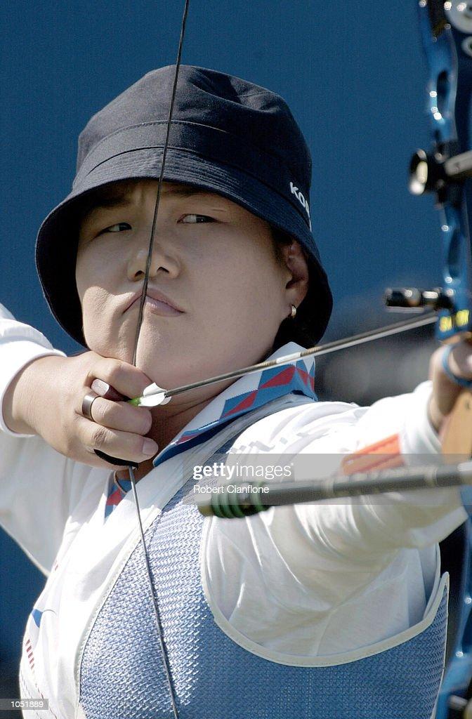 Oly W Archery Team X : News Photo