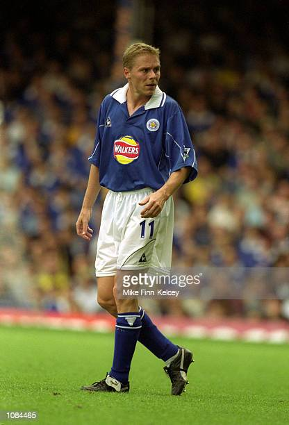 Steve Guppy of Leicester City in action during the FA Carling Premiership match against Southampton played at Filbert Street in Leicester England...