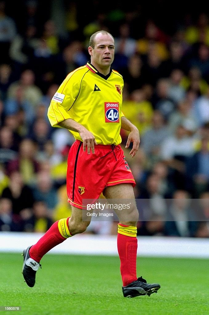 Steve Palmer of Watford in action during the Nationwide League Division One match against Crewe Alexandra at Vicarage Road in London. Watford won the match 3-0. Picture by Mike Finn-Kelcey. \ Mandatory Credit: Allsport UK /Allsport