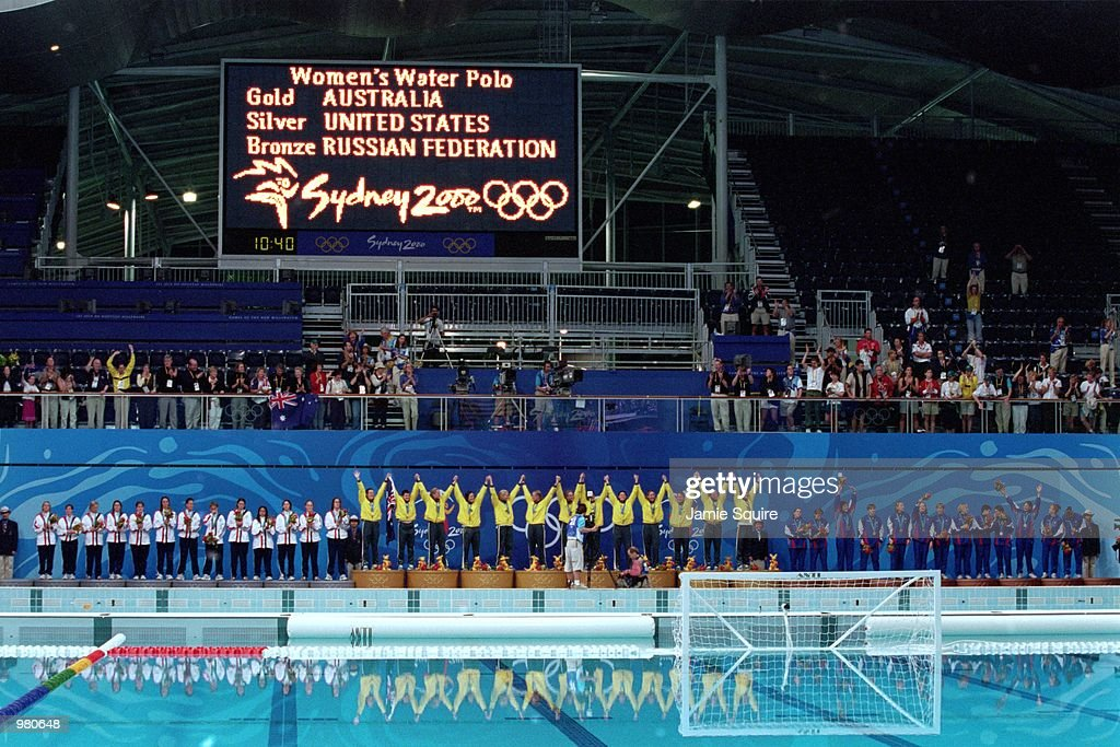 Oly W Water Polo Final : News Photo