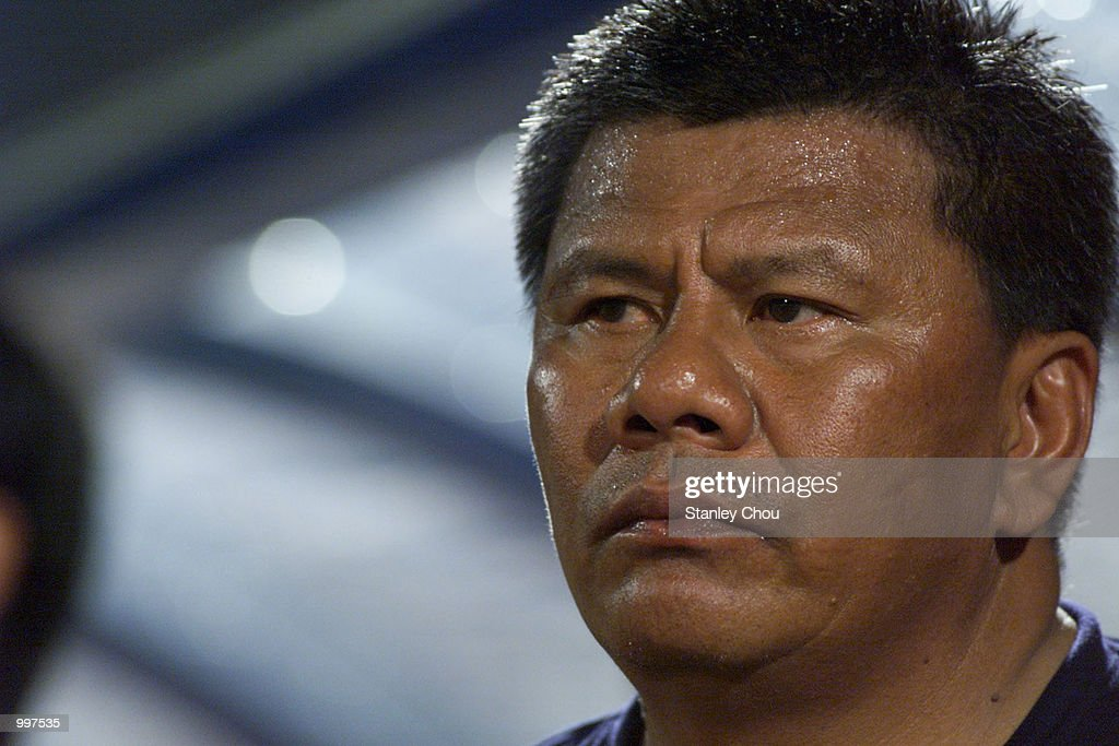 Beny Dollo, Coach of Indonesia at the match between Indonesia and Vietnam in a Group B match held at the MPPJ Stadium, Petaling Jaya, Malaysia during the Under-23 Men Football Tournament of the 21st South East Asian Games. Indonesia won 1-0.DIGITAL IMAGE. Mandatory Credit: Stanley Chou/ALLSPORT