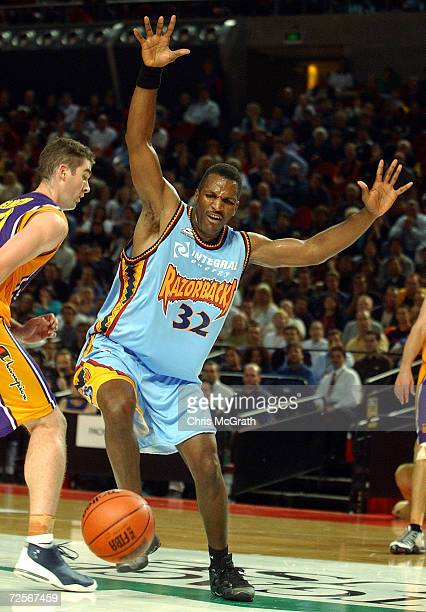 Bruce Bolden of the Razorbacks in action during the NBL match between the Sydney Kings and the West Sydney Razorbacks held at the Sydney Superdome...