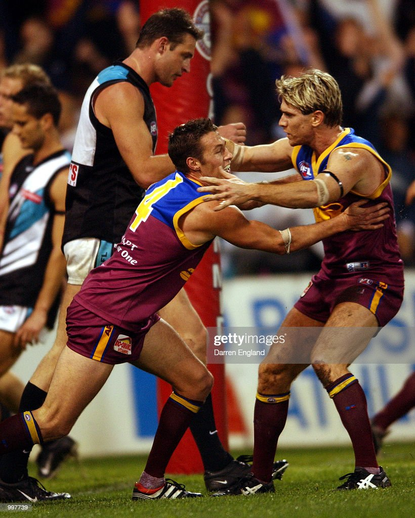 Brisbane v Port Adelaide X : News Photo