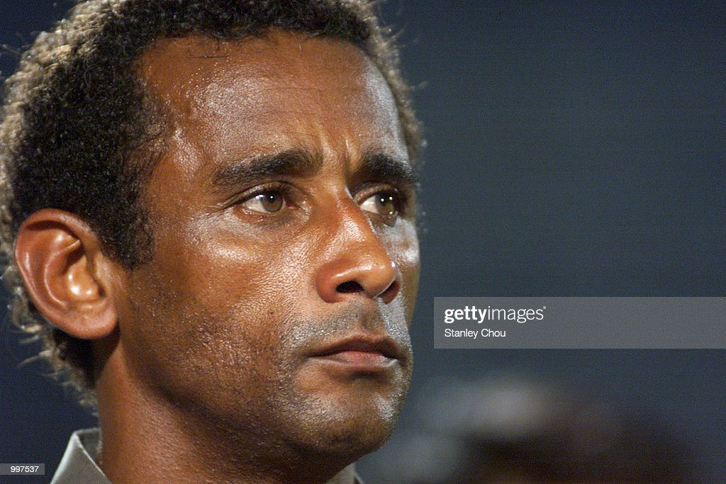 Edson Silva Dido, Coach of Vietnam at the match between Indonesia and Vietnam in a Group B match held at the MPPJ Stadium, Petaling Jaya, Malaysia during the Under-23 Men Football Tournament of the 21st South East Asian Games. Indonesia won 1-0. DIGITAL IMAGE. Mandatory Credit: Stanley Chou/ALLSPORT