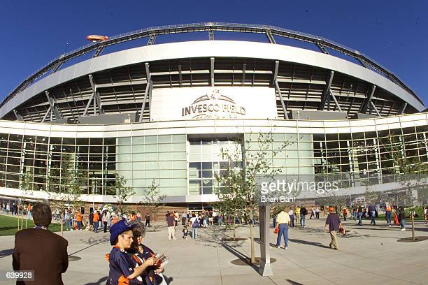 General view of Invesco Field The Broncos defeated the Giants 3120 at Invesco Field in Denver Colorado DIGITAL IMAGE Mandatory Credit Brian...