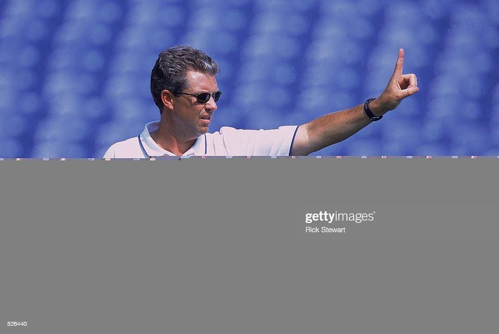 Head Coach Gregg Williams : News Photo