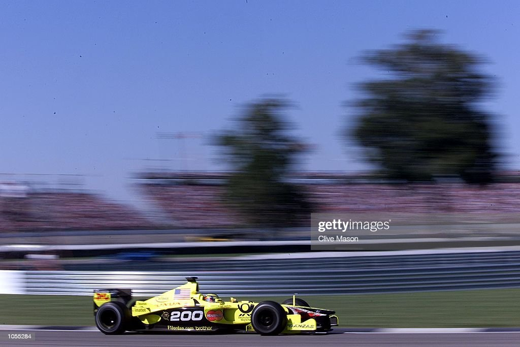 meilleure sélection 74ae3 25164 Jean Alesi of France and Jordan in action in the USA Formula ...
