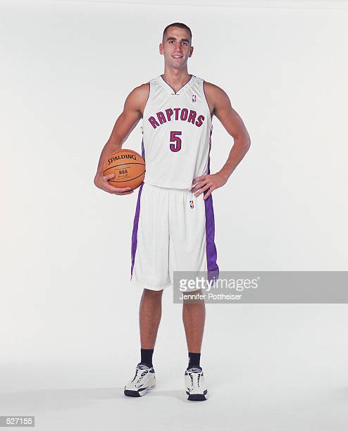 Michael Bradley of the Toronto Raptors poses for a studio portrait on Media Day in Toronto Ontario Canada NOTE TO USER It is expressly understood...
