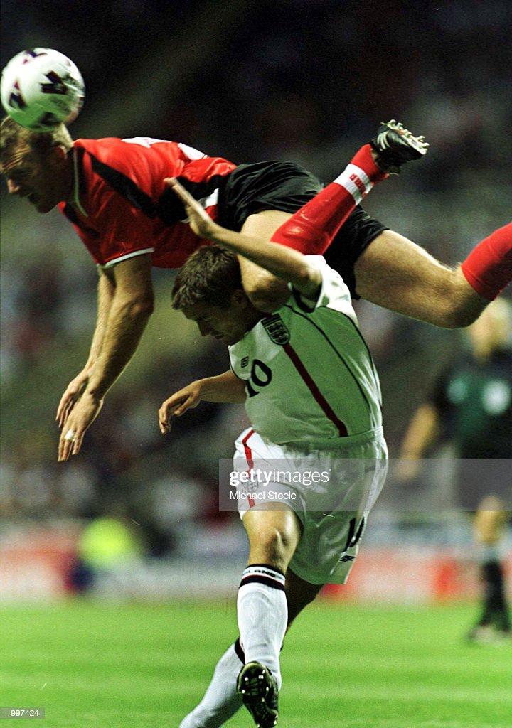 England v Albania : News Photo