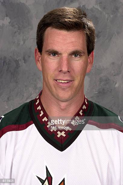 Mike Sullivan of the Phoenix Coyotes poses for a portrait in Phoenix Arizona DIGITAL IMAGE Mandatory Credit Getty Images/NHLI