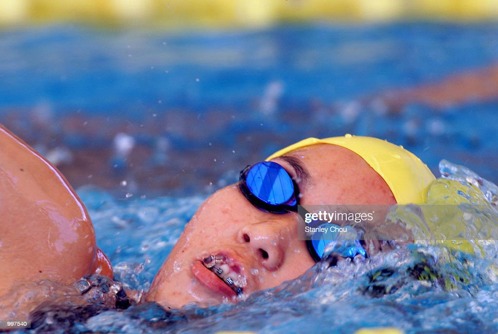 Rawee Inthapornudom of Thailand in action during a training session held at the Bukit Jalil Aquatics Centre, Kuala Lumpur, Malaysia ahead of the 21st South East Asian Games which will begin from 8 September to 17 September 2001. DIGITAL IMAGE. Mandatory Credit: Stanley Chou/ALLSPORT