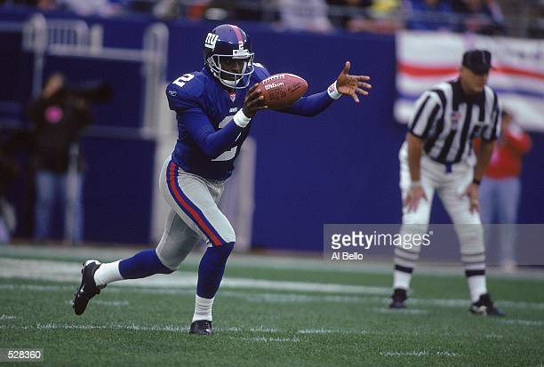 Rodney Williams of the New York Giants in action during the game against the New Orleans Saints at the Giants Stadium in East Rutherford New Jersey...