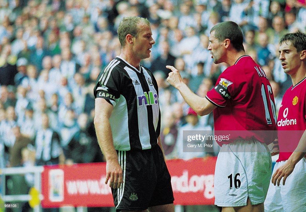Roy Keane Alan Shearer : ニュース写真