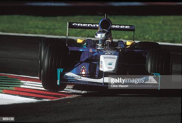Sauber driver Kimi Raikkonen of Finland in action during the Formula One Italian Grand Prix held at Monza in Italy The race took place despite the...