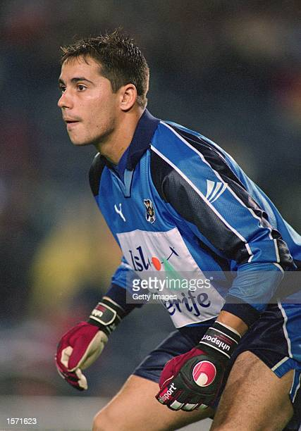 Sergio Aragones of Tenerife in action during the Spanish Primera Liga match against Barcelona played at the Nou Camp in Barcelona Spain Barcelona won...