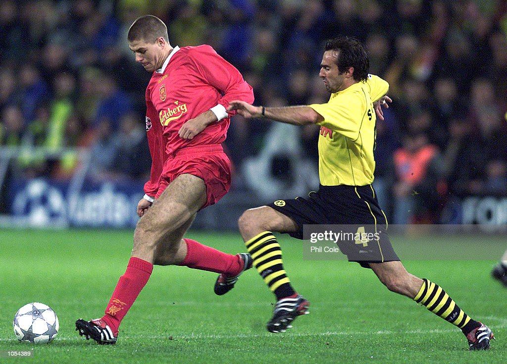 Liverpool v Dortmund X : News Photo