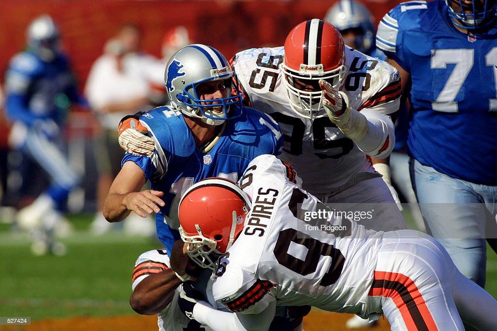 Browns v Lions X : News Photo