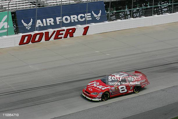 Sep 23 2005 Dover DE USA Dale Earnhardt Jr during practice for the Nextel Cup MBNA RacePoints 400 on Sept 23 2005 at Dover International Speedway in...