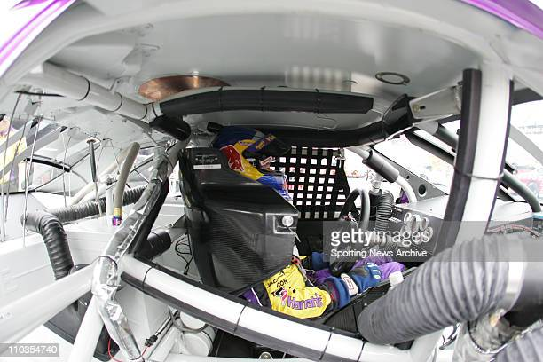 Sep 23 2005 Dover DE USA Robby Gordon during practice for the Nextel Cup MBNA RacePoints 400 on Sept 24 2005 at Dover International Speedway in Dover...
