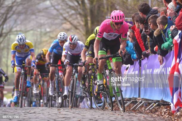 Sep Vanmarcke of Belgium and Team EF Education First - Drapac P/B Cannondale / during the 80th Gent-Wevelgem In Flanders Fields 2018 a 250,8km race...