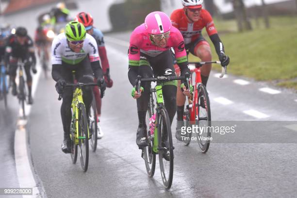 Sep Vanmarcke of Belgium and Team EF Education First - Drapac P/B Cannondale / during the 73rd Dwars door Vlaanderen 2018 a 180,1km race from...