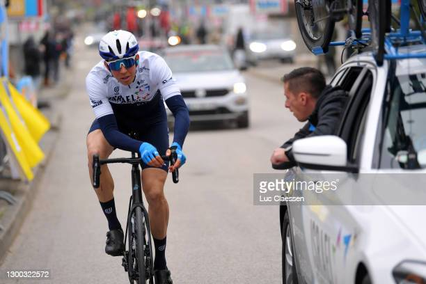 Sep Vanmarcke of Belgium and Team Israel Start-Up Nation during the 51st Étoile de Bessèges - Tour du Gard 2021, Stage 2 a 154km stage from...