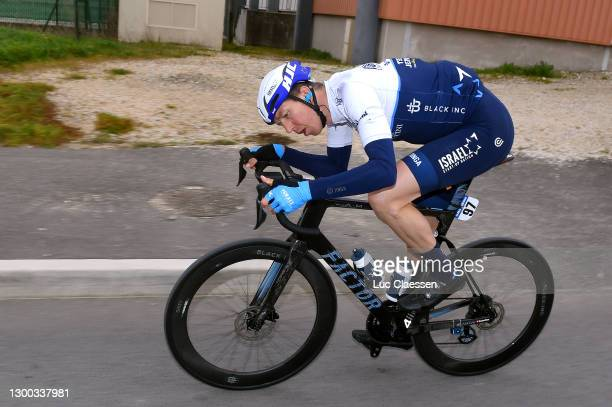 Sep Vanmarcke of Belgium and Team Israel Start-Up Nationduring the 51st Étoile de Bessèges - Tour du Gard 2021, Stage 2 a 154km stage from...