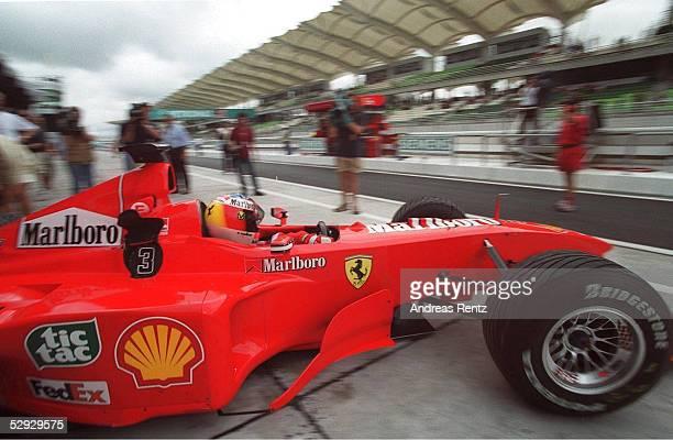 MALAYSIA 1999 Sepang Michael SCHUMACHER/FERRARI