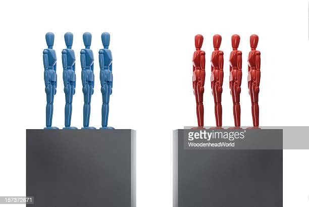 Separate team groups