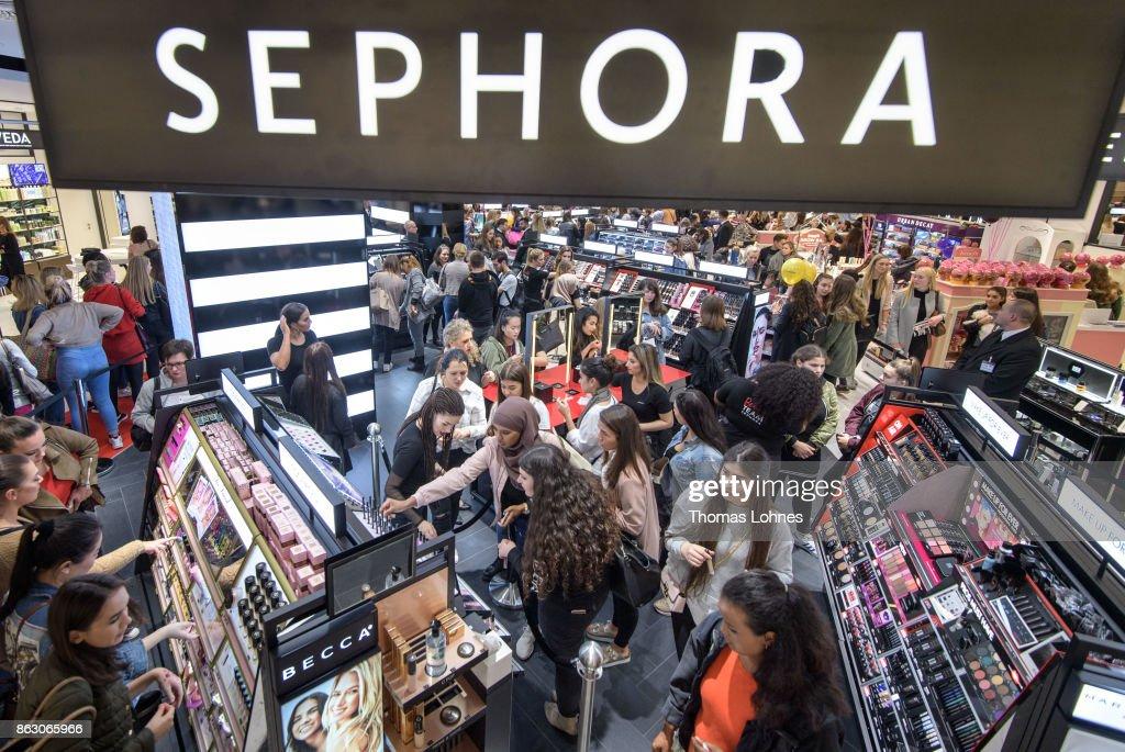 Sephora X Kaufhof Beauty World Opening In Duesseldorf : News Photo