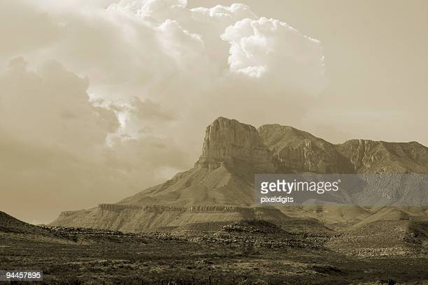 sepia southwest landscape. - sepia stock pictures, royalty-free photos & images
