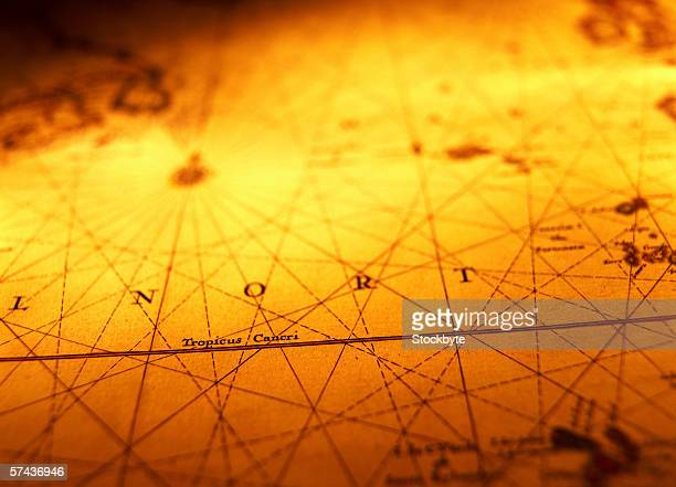 Yellow World Map Stock Photos And Pictures Getty Images - World map sepia toned