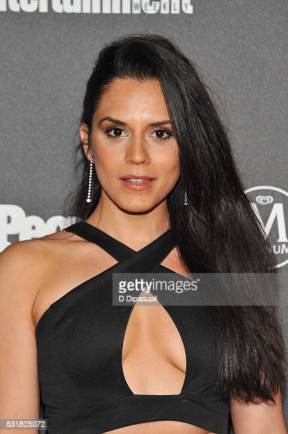 Sepideh Moafi attends the Entertainment Weekly and People New York Upfronts Celebration at Cedar Lake on May 16 2016 in New York City