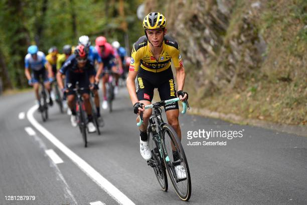 Sepp Kuss of The United States and Team Jumbo - Visma / during the 75th Tour of Spain 2020, Stage 1 a 173km stage from Irun to Eibar - Alto de Arrate...