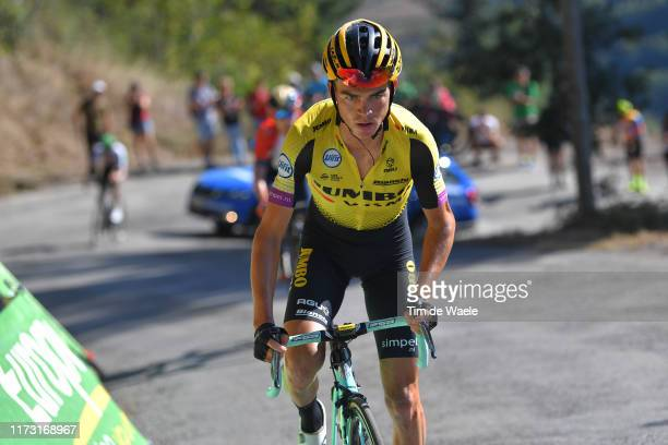Sepp Kuss of The United States and Team Jumbo-Visma / Puerto del Acebo - Santuario del Acebo / during the 74th Tour of Spain 2019, Stage 15 a 154,4km...