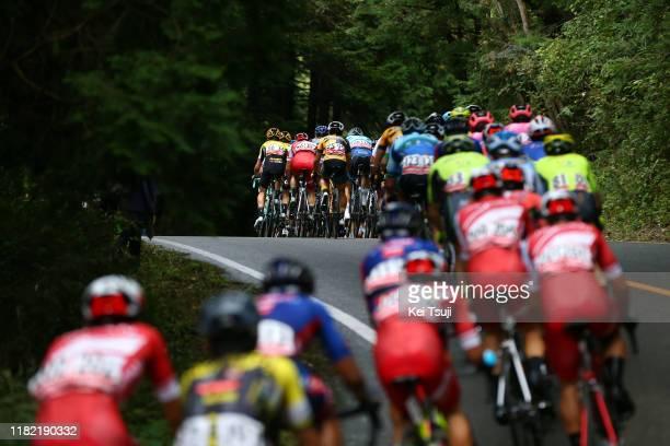 Sepp Kuss of United States and Team Jumbo - Visma / Muhsin Al Redha Misbah of Malaysia and Team Sapura Cycling / Yuan Tan Peng of Taiwan and Team...