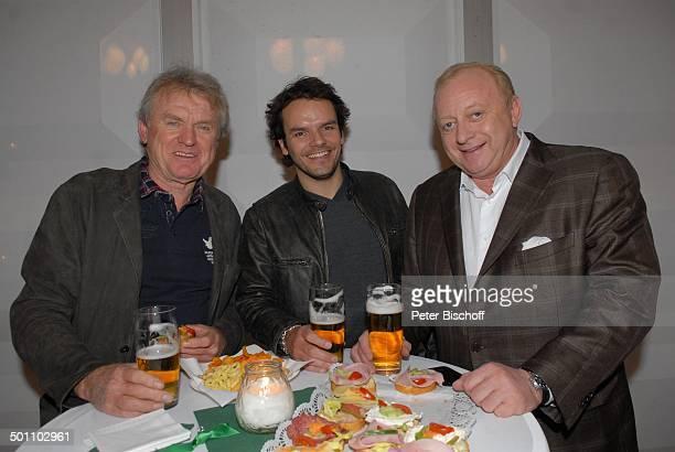 Sepp Maie Steffen Henssler Alfons Schuhbeck Party nach ZDFBenefizShow 'Gut zu wissen BavariaFilmstudio 9 Geiselgasteig Bayern Deutschland Europa Gala...