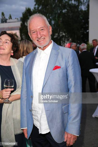 Sepp Schauer during the Bavaria Film Reception One Hundred Years in Motion on the occasion of the 100th anniversary of the Bavaria Film Studios and...