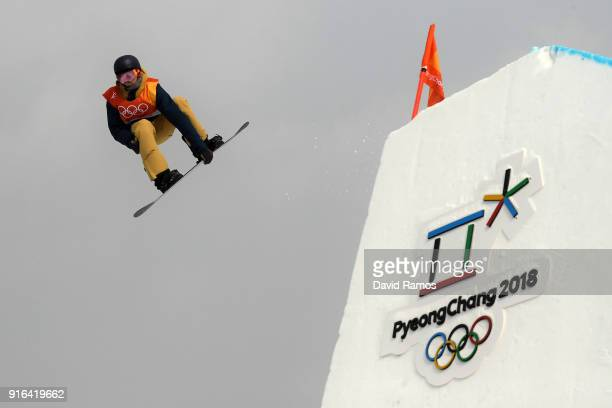 Seppe Smits of Belgium competes during the Men's Slopestyle qualification on day one of the PyeongChang 2018 Winter Olympic Games at Phoenix Snow...