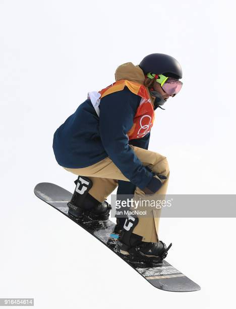 Seppe Smits of Belgium competes during the Men's Slopestyle qualification on day one of the PyeongChang 2018 Winter Olympic Games at Bokwang Snow...