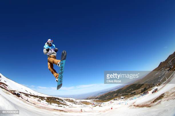 Seppe Smits of Belgium during the Men's Slopestyle Final on day four of the FIS Freestyle Ski and Snowboard World Championships 2017 on March 11 2017...