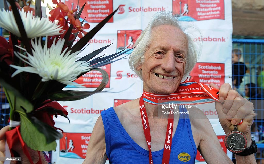 Sept 26th 2010.pics of . 79 yr old ed whitlock set a world record in the ssingle age group for the h : News Photo