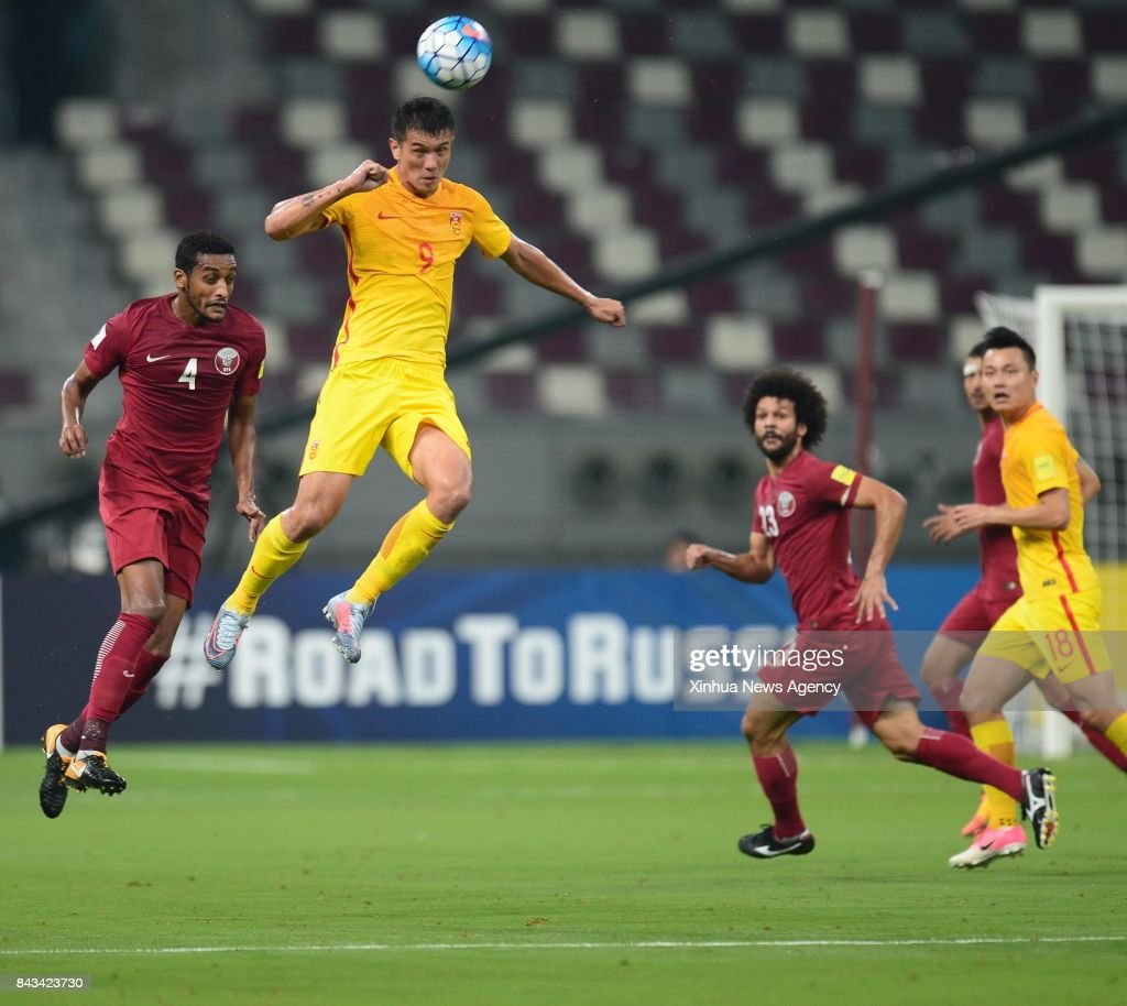 Popular China World Cup 2018 - sept-6-2017-xiao-zhi-of-china-heads-the-ball-during-the-2018-fifa-picture-id843423730  Image_46266 .com/photos/sept-6-2017-xiao-zhi-of-china-heads-the-ball-during-the-2018-fifa-picture-id843423730