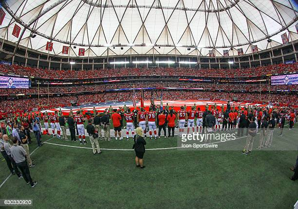 A special remembrance on this 15th anniversary of 9/11 and presentation of the colors before the game between the Atlanta Falcons and the Tampa Bay...