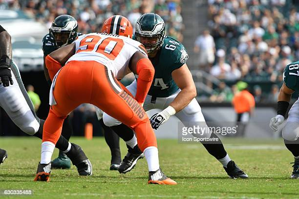Philadelphia Eagles Offensive Tackle Matt Tobin [18952] during a National Football League game between the Cleveland Browns and the Philadelphia...