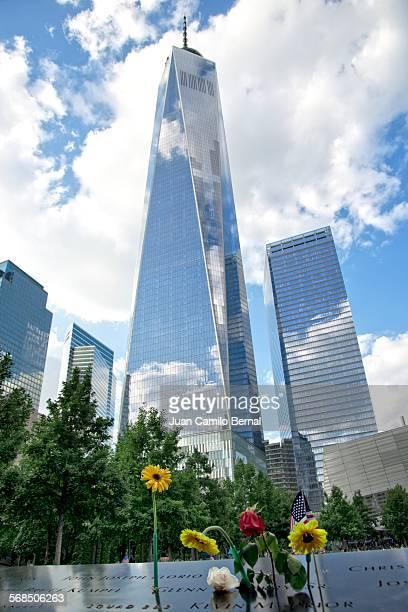 September 11 Memorial and One World Trade Cener