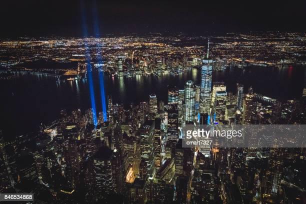 September 11th — Tribute in Light. New York, NY USA