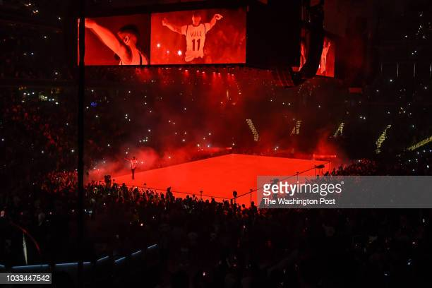 WASHINGTON DC September 13th 2018 Drake performs at Capital One Arena in Washington DC as part of his Aubrey and the Three Migos Tour His latest...